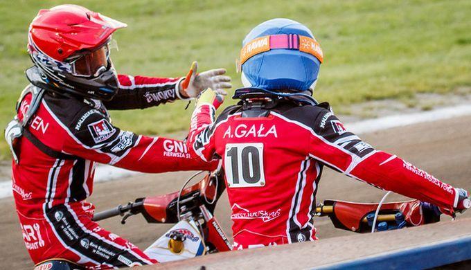 На фото: Фредерик Якобсен и Адриан Гала