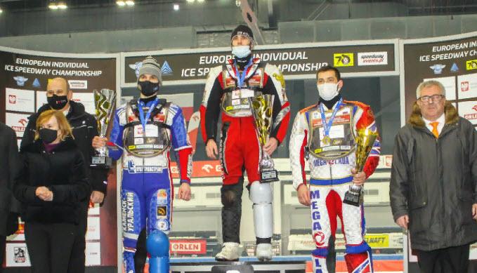 Результат личного чемпионата Европы по мотогонкам на льду 2020 года