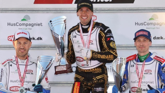 Андерс Томсен чемпион Дании по спидвею 2021 года
