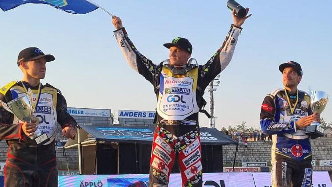 Фредрик Линдгрен - чемпион Швеции по спидвею 2021 года