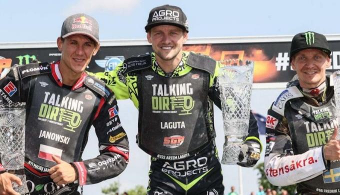 Второй этап Гран-При 2021 года выиграл Артём Лагута