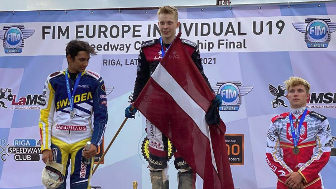 Францис Густс – чемпион Европы среди юниоров до 19 лет