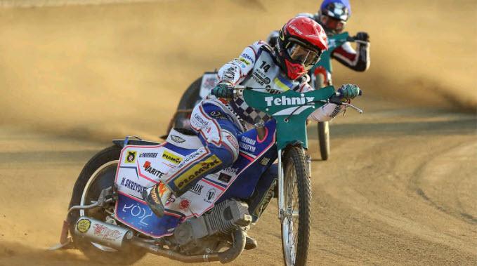 Александр Локтаев - чемпион Украины по спидвею 2021 года