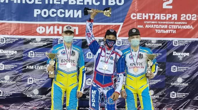 Евгений Сайдуллин – чемпион России среди юниоров по спидвею 2021 года